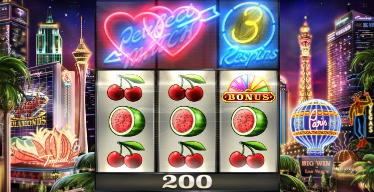 Vegas Diamonds slot review respins