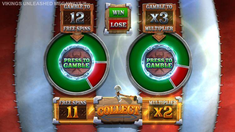 Vikings Unleashed Megaways slot review gamble 2