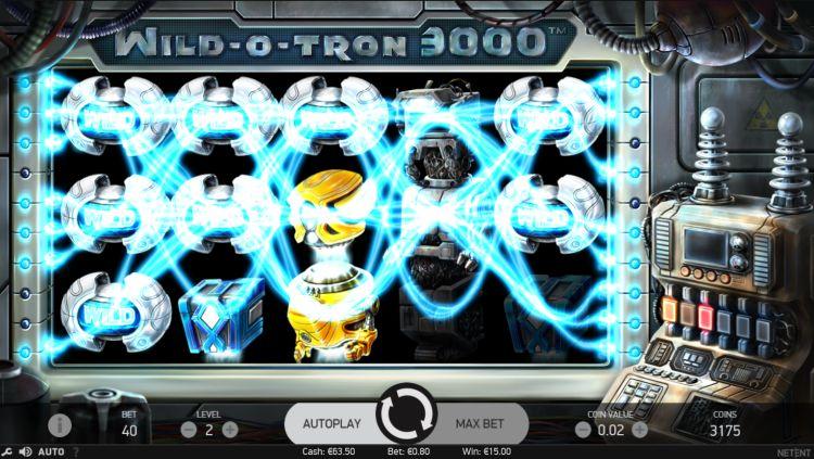 Wild-O-Tron 3000 slot review (Netent) - SuperBigWin com