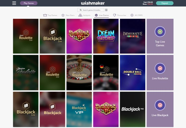 wishmaker-casino-review-live-casino