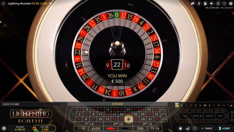 best strategy lightning roulette