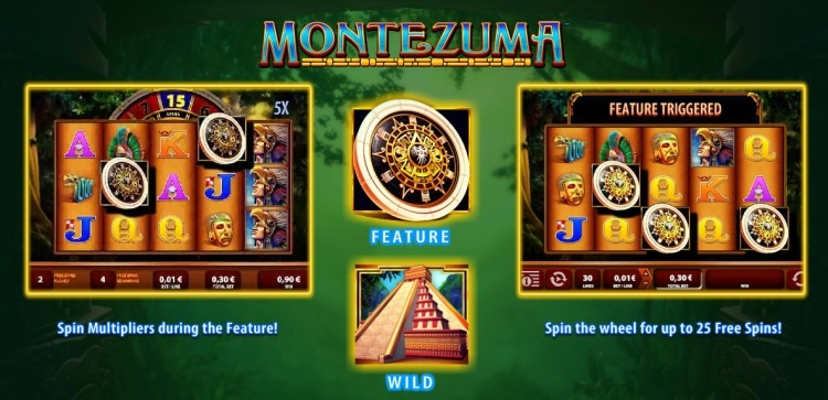 montezuma slot review wms gokkast game rules