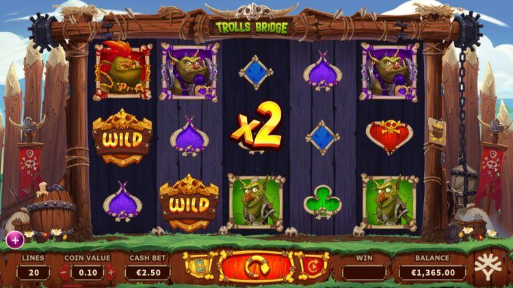 Trolls Bridge slot review Ygdrasil