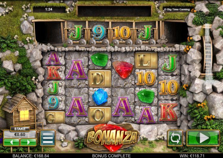 Bonanza_slot review_Big Time Gaming bonus trigger