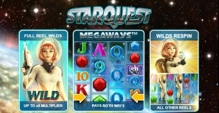 Starquest-Megways-slot review-game tuturial