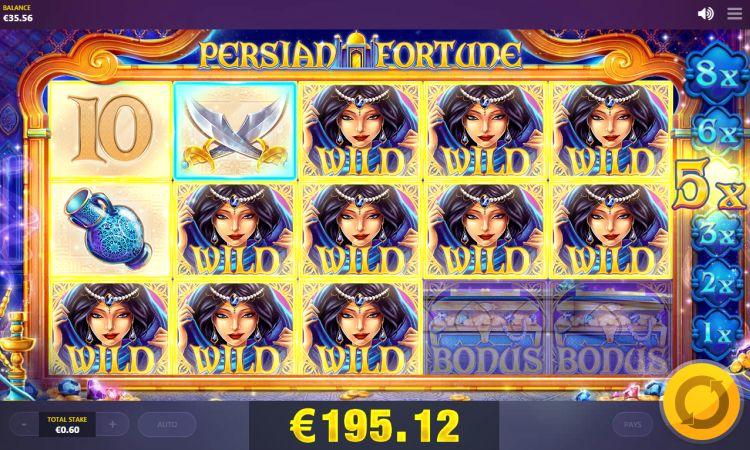 Red Tiger Gaming slots reviews-Persian-Fortune-slot-mega-big-win