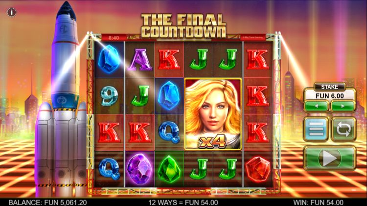 the-final-countdown new slot 2019