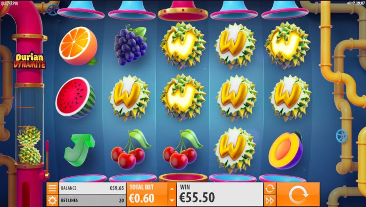 durian-dynamite new slot 2019 quickspin
