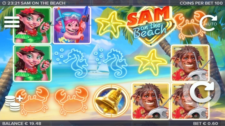 Sam-on-the-beach-slot-review-elk-studios