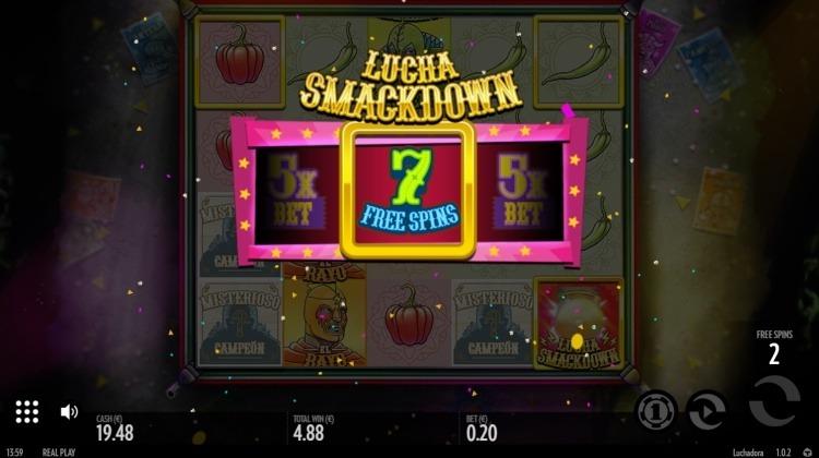 Luchadora-slot-review-thunderkick-bonus