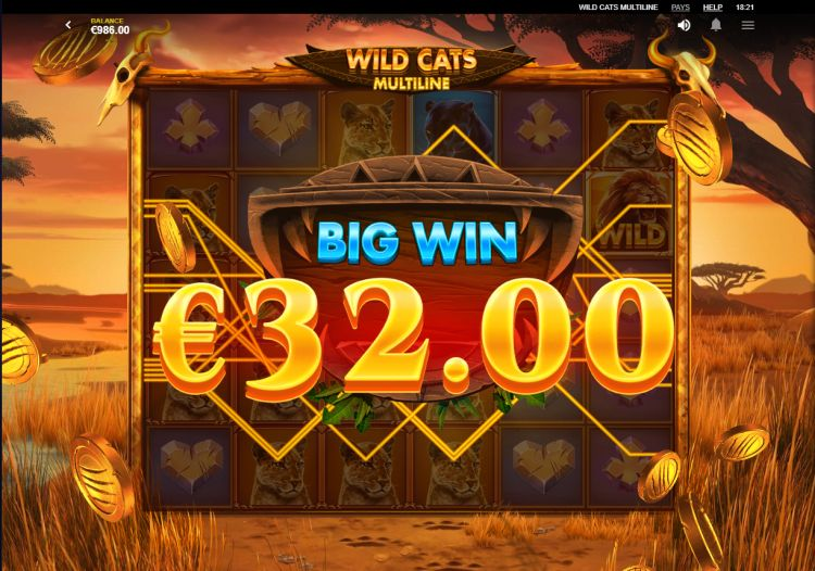 wild-cats-multiline-slot-review-red-tiger-gaming-big-win