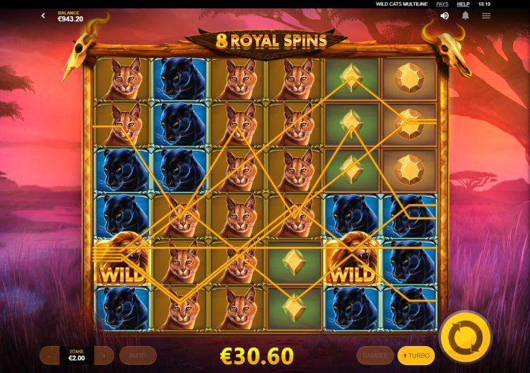 wild-cats-multiline-slot-review-red-tiger