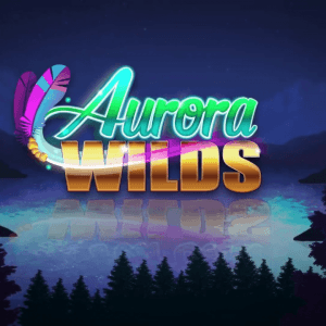 Aurora Wilds slot review Microgaming logo