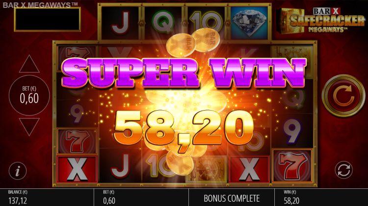 bar x megaways slot review big win