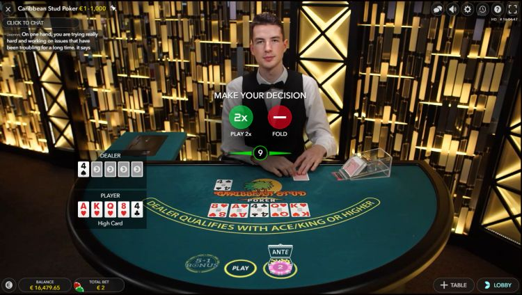Caribbean Stud poker strategy tips
