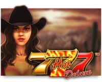 hot 777 deluxe wazdan slot logo