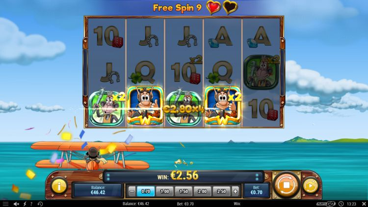 hugo's adventure slot play n go free spins