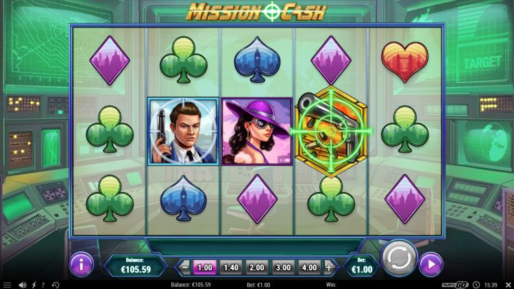 Mission Cash slot review free spins trigger