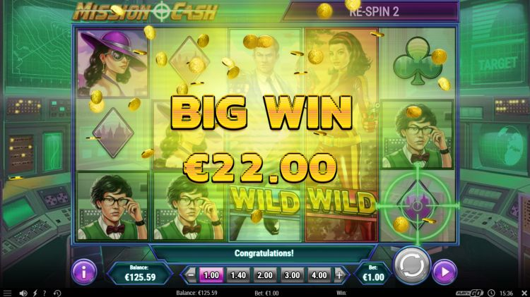 Mission Cash slot review play n go big win