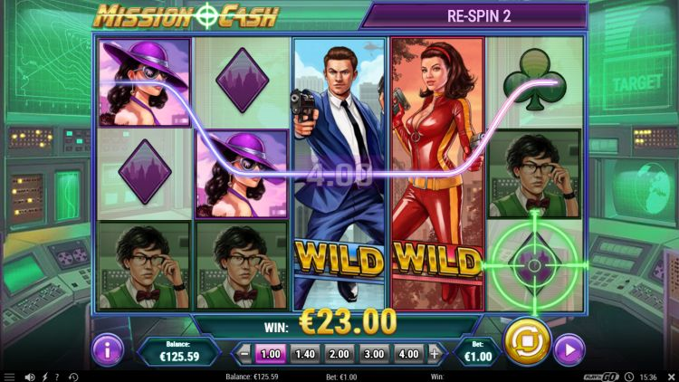 Mission Cash slot review play n go