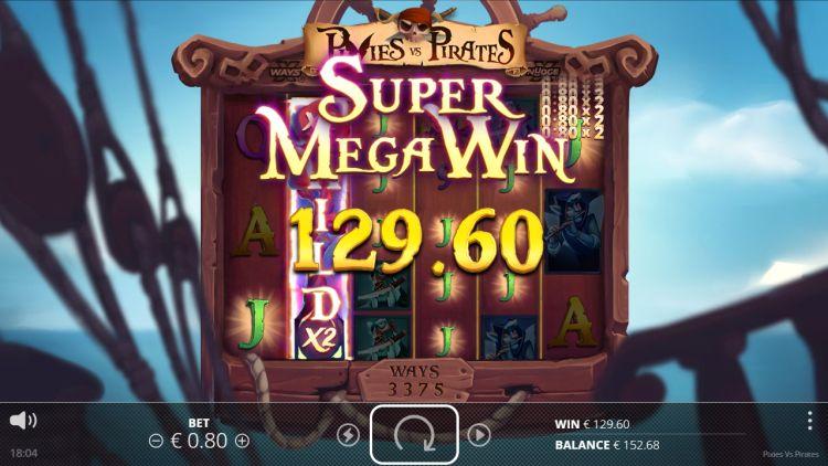 Pixies vs Pirates slot nolimit city mega big win