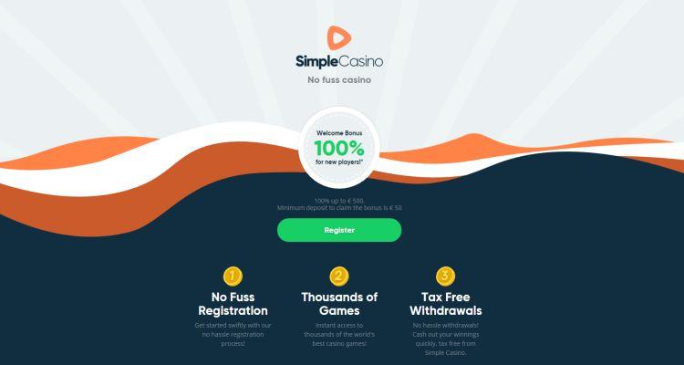 Simple casino review bonus