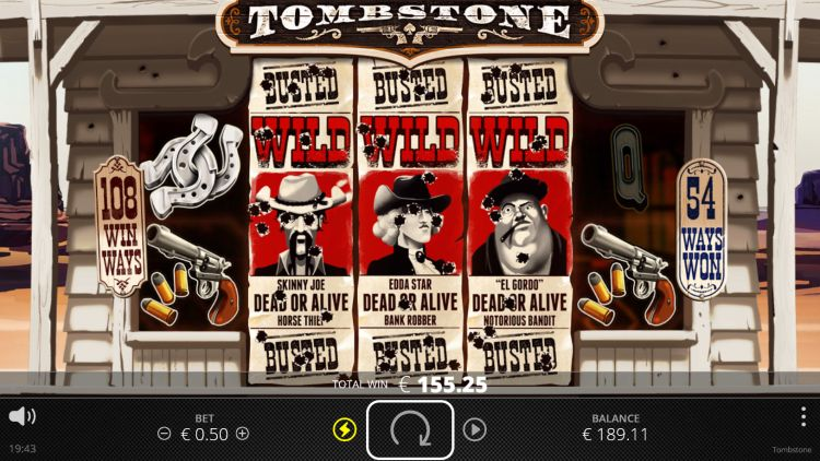tombstone slot review mega win