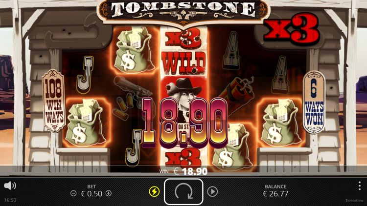 tombstone slot review nolimit city big win