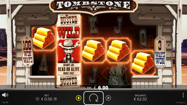 tombstone slot review nolimit city win