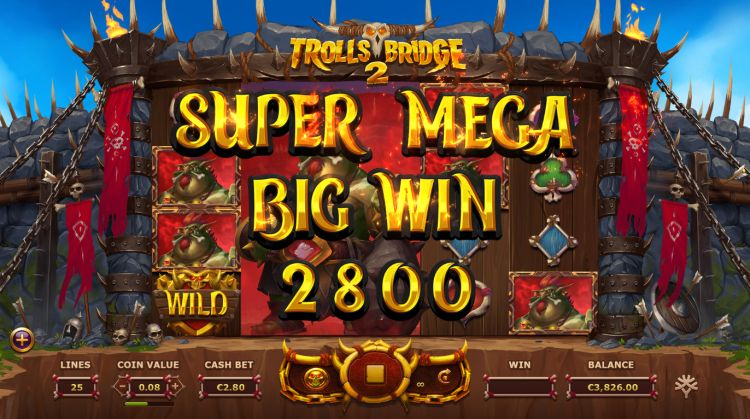 Trolls Bridge 2 slot Yggdrasil