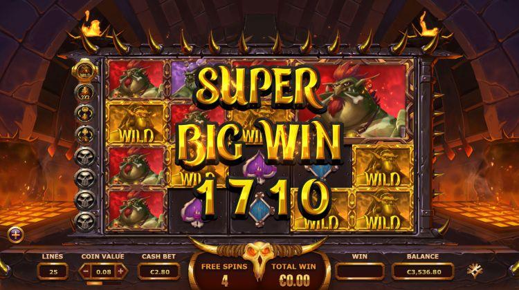 Trolls Bridge 2 Yggdrasil super big win