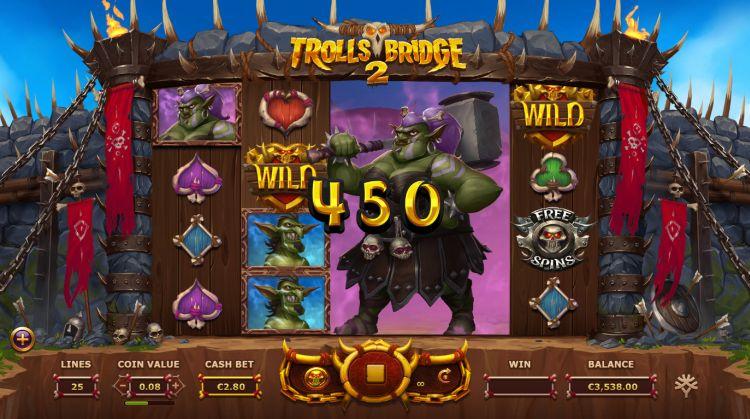 Trolls Bridge 2 Yggdrasil win
