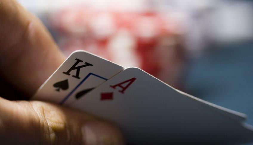 Blackjack-closeup