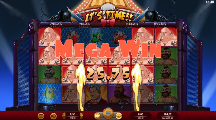 It's Time slot review relax gaming mega win