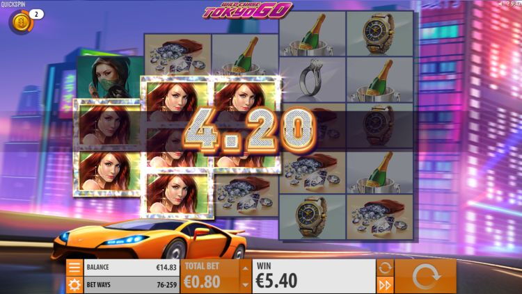 Wild Chase Tokyo Go slot review win