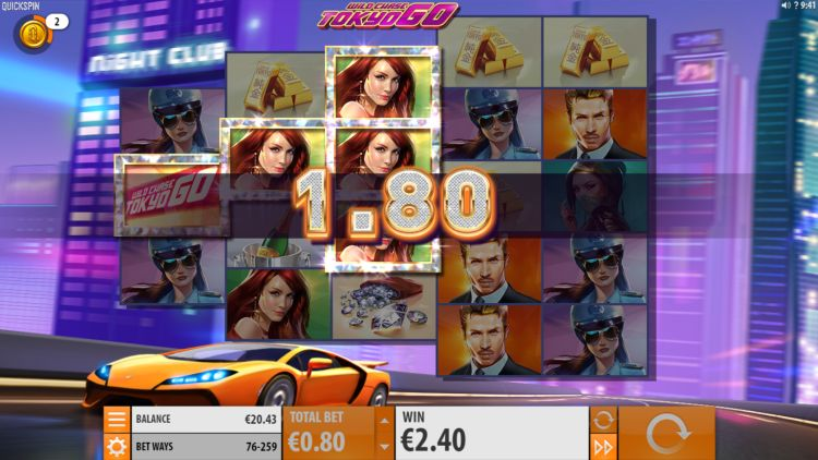 Wild Chase Tokyo Go slot review
