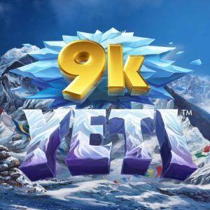 9k yeti slot review logo