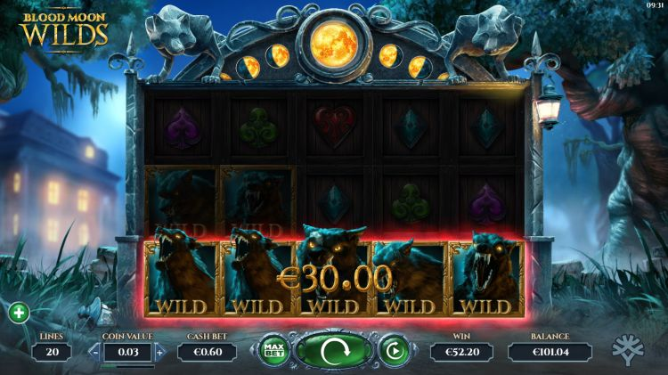 Blood Moon Wilds slot yggdrasil