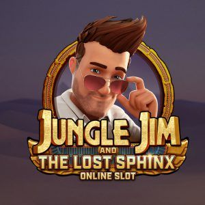 jungle jim and the lost sphinx microgaming logo