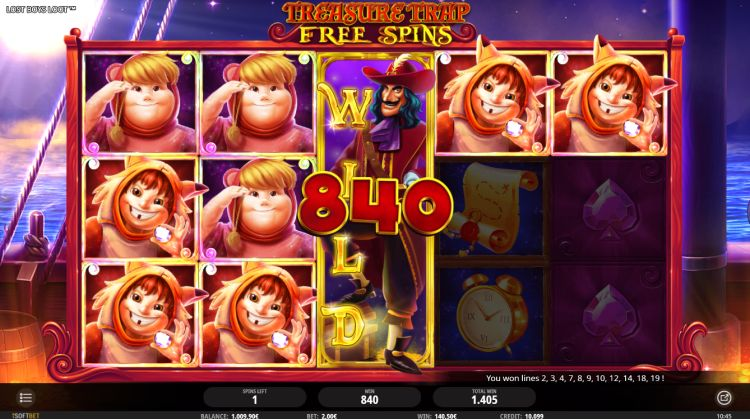 Lost Boys Loot slot review isoftbet big win