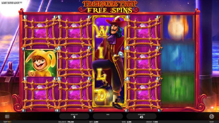 Lost Boys Loot slot review isoftbet free spins