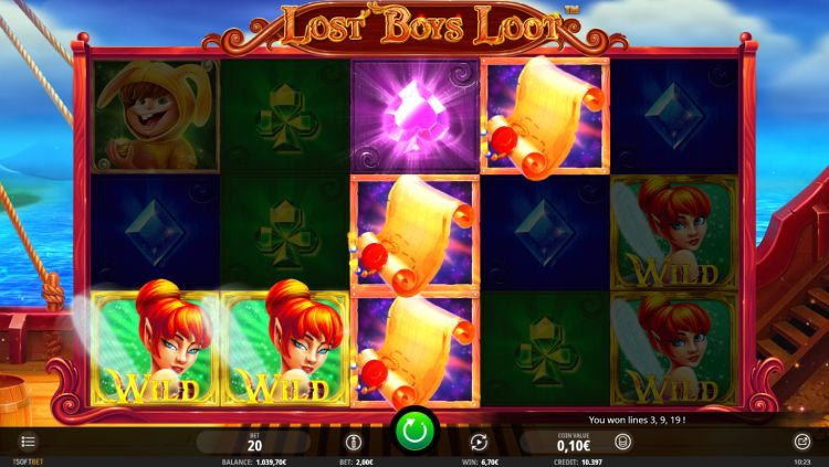 Lost Boys Loot slot review isoftbet win