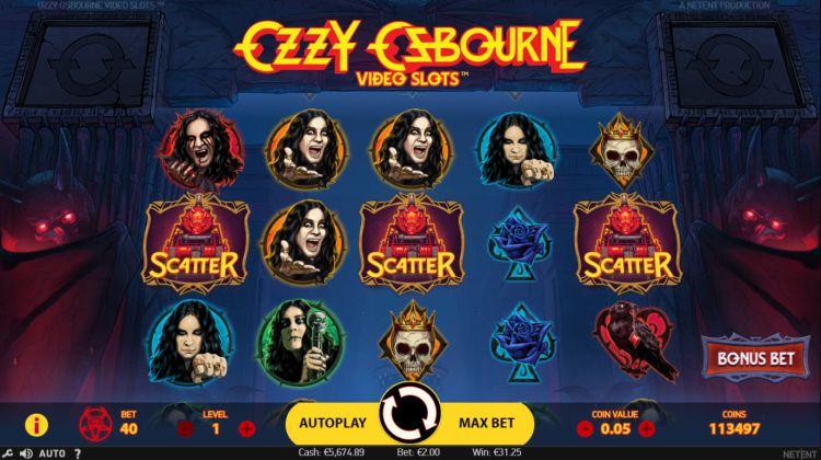 Ozzy Osbourne bonus trigger