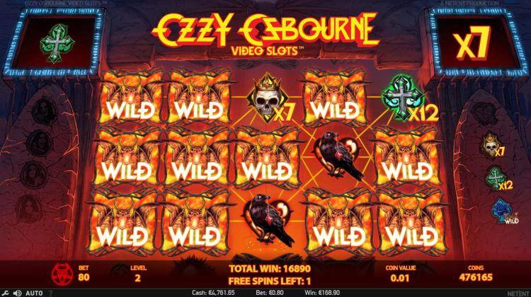 Ozzy Osbourne slot review netent super big win