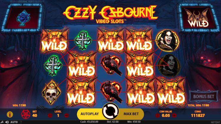 Ozzy Osbourne slot review netent