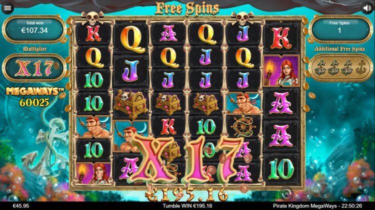 Pirate Kingdom Megaways review iron dog studios free spins win