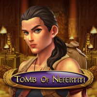 Tomb of Nefertiti slot nolimit city review logo