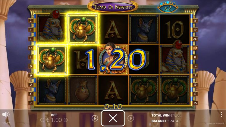 Tomb of Nefertiti slot nolimit city review