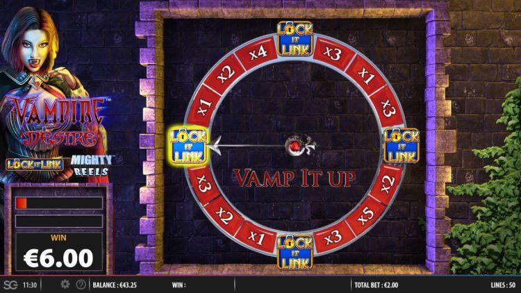 Vampire desire lock it link slot review