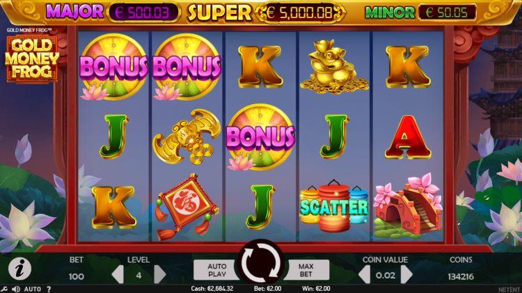 gold-money-frog-netent-slot-review-bonus-trigger